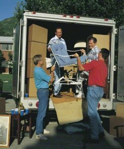 people helping a new ward member move