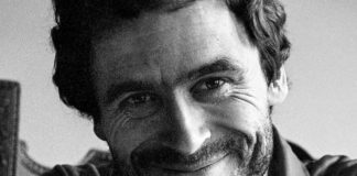 Ted Bundy smiling
