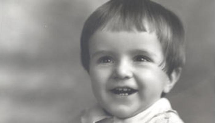 baby picture of elder m. russell ballard