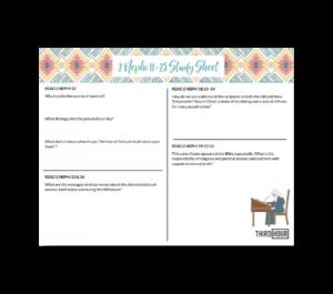 2 nephi 11-25 study sheet