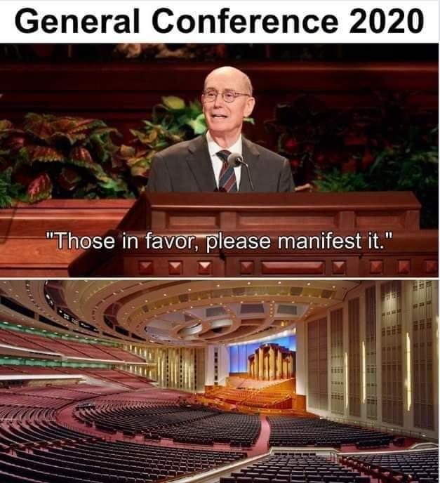 General Conference meme