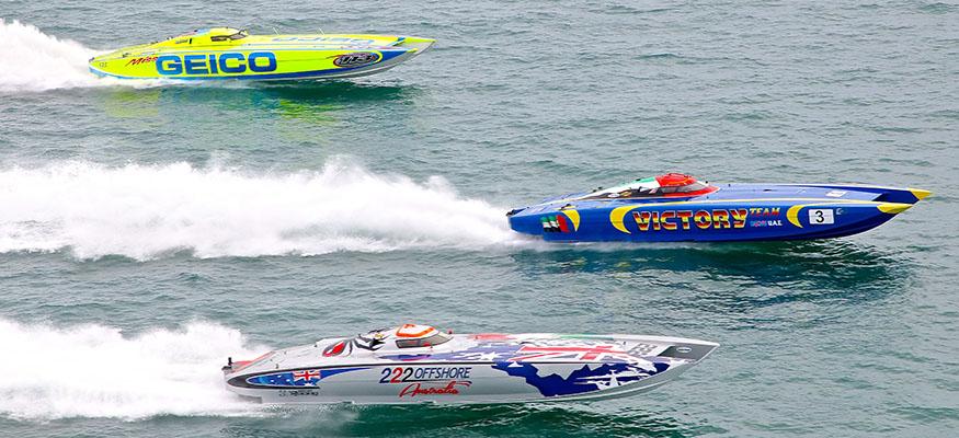 Boat Racing Dubai River