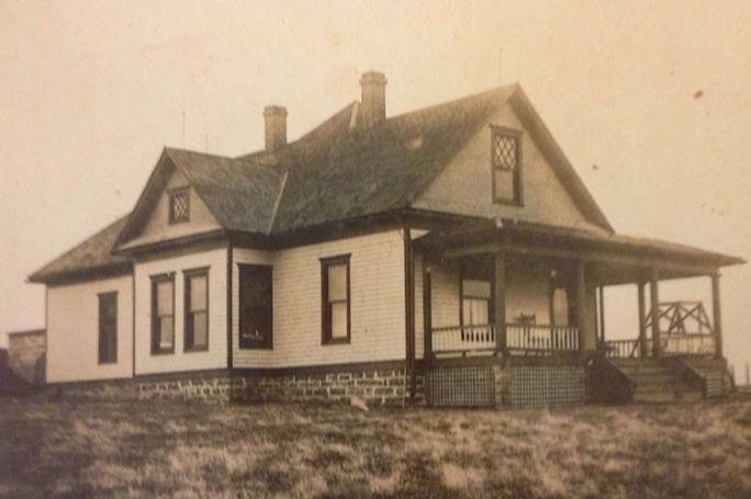 folk Victorian home