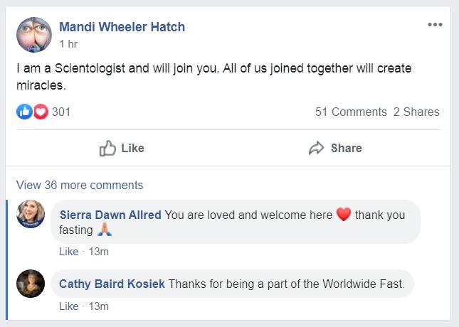 Worldwide Fast Facebook post