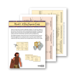 zeniff mosiah 7 to 10 sequence cards for kids