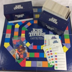 Jots and Tittles board game