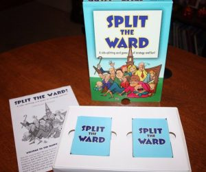 Split the Ward Card Game