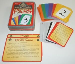 It came to pass card game