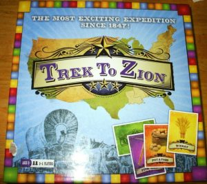 Trek to Zion board game