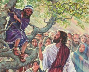 Christ and Zaachaeus