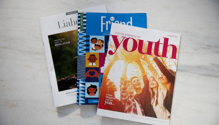 new lds magazines