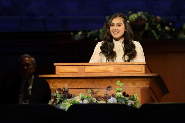 youth speaker virtual general conference 2020