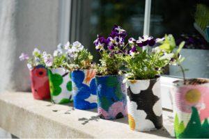 kids flower pot craft
