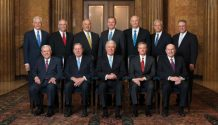 quorum of the twelve apostles and first presidency 2018