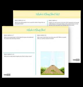 study sheet 3 nephi 8-11