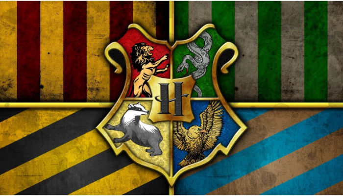 all four harry potter houses