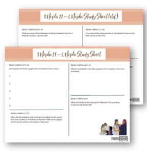 study sheet 3 nephi 27 to 4 nephi