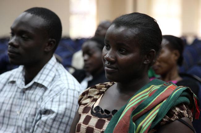 young single adults at church in kenya