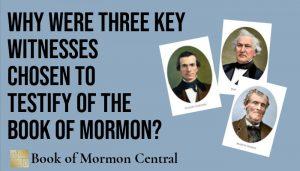 three witnesses book of mormon