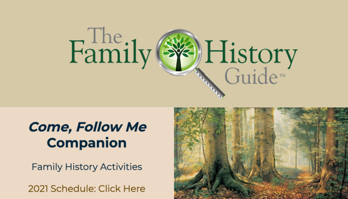 family history guide come follow me companion family history activities