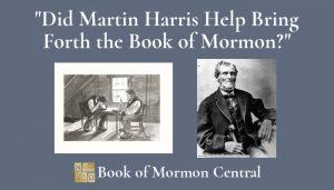 martin harris book of mormon