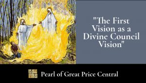 the first vision as a divine council vision
