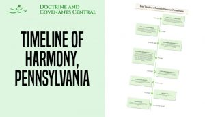 come follow me timeline harmony pennsylvania