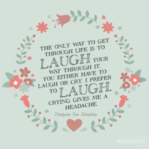 i prefer to laugh