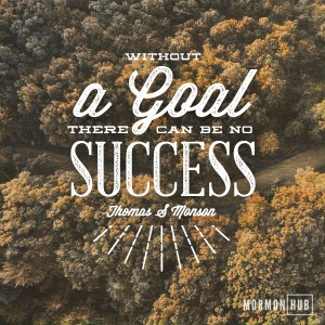 Without a goal there can be no success. Thomas S Monson