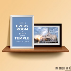 Have in every room a picture of the temple