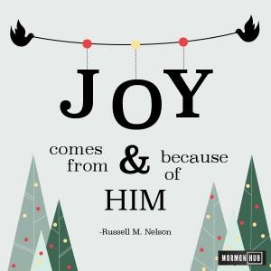 Joy from him